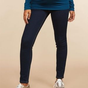 Indigo Blue Maternity Skinny Jeans -Pea in the Pod